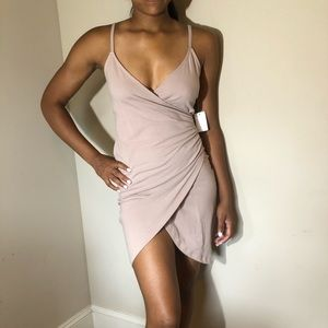 FITTED CREAM DRESS
